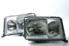 Headlights Front Lamps LEFT+RIGHT Fits Mercedes W124 1985-1993