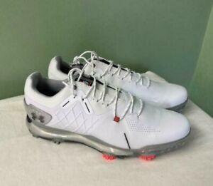 Men's Under Armour Spieth 4 Gore-Tex Golf Shoes Comfort 3023324-100 Size 9.5
