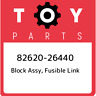 82620-26440 Toyota Block assy, fusible link 8262026440, New Genuine OEM Part
