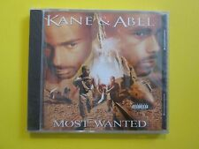 Kane & Abel Most Wanted Explicit NEW Sealed Rap CD
