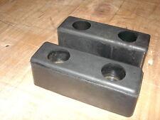 Horse Box Rubber Buffer Pair 6 X 2 X 2