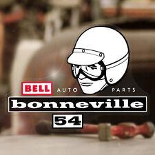 Bell Bonneville autocollant sticker autocollante pegatina casque tête casquée Cool Moon