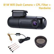 Blueskysea B1W 1080P Mini WiFi Dash Camera - Black