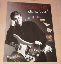 PAUL McCARTNEY ALL THE BEST SONGBOOK (NEW)
