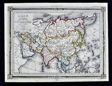 1846 Bocage Map - Asia - China Japan Korea India Malaysia Afghanistan Persia