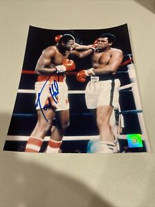 Autographed Larry Holmes Signed 8x10 Photo Boxing SSG COA GTP TPA