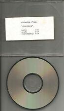 ALEXANDER O'NEAL Aphrodesia w/ RARE RADIO trk & INSTRUMENTAL PROMO DJ CD single