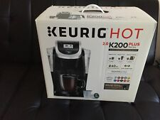 Keurig Hot 2.0 K200 Plus Series Coffee Maker Brewer Black Brand New Sealed