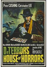 Dr Terror's House of Horrors - Peter Cushing - A4 Laminated Mini Poster