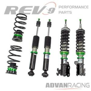 Hyper-Street ONE Lowering Kit Adjustable Coilovers For Prius C 12-19