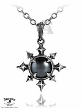 Chaosium Hematite Cabochon Chaos Jewel Necklace Alchemy Gothic Tribal Arrow Star