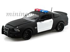 COLLECTIBLES 2012 FORD SHELBY MUSTANG GT 500 SUPER SNAKE 1/18 POLICE UNMARKED