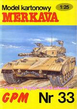 "Panzerwagen K.C Model Card /""Ruskij Reno/"" 89 1:25"