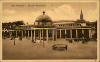 Bad Pyrmont Niedersachsen alte AK 1925 Partie an der neuen Wandelhalle Pavillion