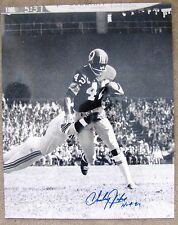 Charley Taylor Autographed 16 x 20 B&W Photo Washington Redskins Hall of Fame