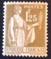France Type Paix N°287 1.25f Olive Neuf ** TB Centrage Et Qualité Côté 215€ 30%