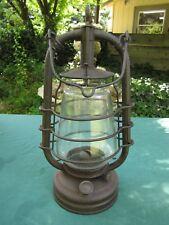 Rare Heavy Guage Japanese Oil Lamp