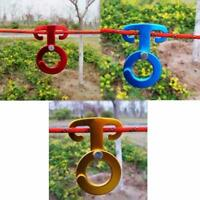 Rope Hanger Paracord Buckle Outdoor Camping Tent Multi Tool Travel Accessories H