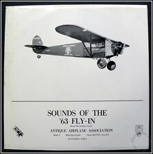Sounds of the '63 Fly-In, Antique Airplane Assn. Century Recording 17593 Vinyl
