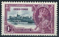 Or Coast 1935 1s Ardoise & Violet SG116b Court Extra Flagstaff V.F MNH