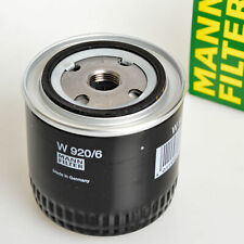Mann-Filter W920/6 OIL FILTER CHRYSLER DODGE JEEP PIAGGIO PLYMOUTH