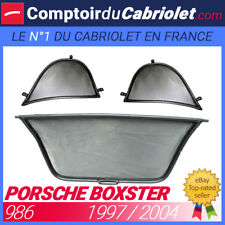 Filet anti-remous coupe-vent, windschott Porsche Boxster cabriolet - TUV