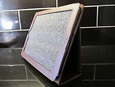 Brown PU Leather Carry Case/Cover/Wallet Stand for Apple Ipad 1,2,3,NEW Tablet