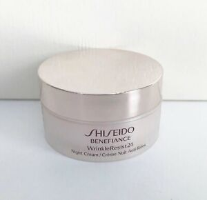 Shiseido Benefiance WrinkleResist 24 Night Cream, 18ml / 0.62oz, Brand New