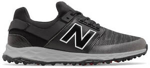 New Balance NB Fresh Foam Links SL Golf Shoes Black 4000BK Men's New