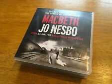 Macbeth, Jo Nesbo, Audio Book on 14 CDs, Complete and excellent condition