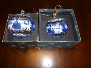 2 Rosenthal Weihnachtskugeln