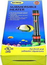 100W Preset Aquarium Submersible Heater with Electronic Thermostat for Fish Tank