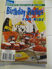 Birthday Parties for Kids from Favorite Brand Name Recipes