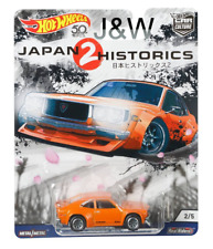 Hot Wheels Mazda RX3 Orange Japan Historics 2 1/64