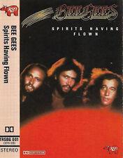 BEE GEES SPIRITS HAVING FLOWN CASSETTE ALBUM RSO TRSBG 01 SOFT ROCK DISCO