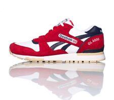 Reebok GL 6000 Sneakers Red/White/Navy Men's Size 12 M41415