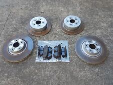 Subaru Outback Liberty Sedan Wagon EJ25 Gen 4 03 06 Brake Rotor Pads Bendix Set