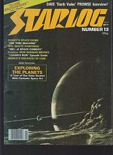 STARLOG #13 1978 'DARTH VADER' INTERVIEW  FN-  TIME MACHINE/LOGAN'S RUN