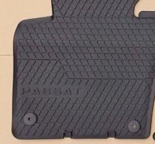 VW Passat 3C B6 B7 original floor mats 4 rubber mats R36 front rear SET