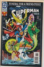 SUPERMAN #83 NOV 1993  DC COMIC BOOK