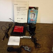 Used SONY MZ-R900 MD Player Recorder MDLP Red Free Shipping from JAPAN