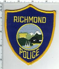 Richmond Police (California) Shoulder Patch - from the 1980's