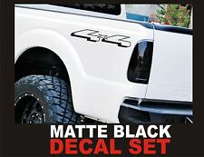 4x4 Off Road Truck Bed Decals, Matte Black (Set) for Ford F-150 and Super Duty