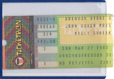 Billy Squire March 27 1983 Brendan Byrne Arena Concert Ticket Stub