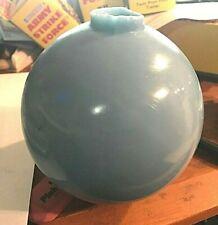"VINTAGE BLUE 5"" GLASS LIGHTNING ROD BALL"
