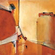 "36""x36"" ARIZONA by NOAH LI-LEGER  TONED YELLOW/BEIGE/BROWN'S CANVAS"