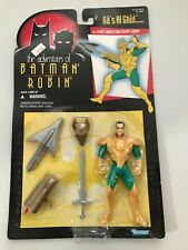 Kenner The Adventures of Batman and Robin Ra's Al Ghul figure new sealed 1995