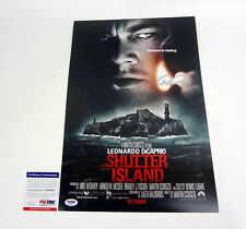 Dennis Lehane Author Signed Autograph Shutter Island Movie Poster PSA/DNA COA