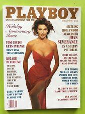 Playboy Magazine January 1990 PEGGY McINTAGGART Tom Cruise JOAN SEVERANCE Mint
