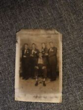 Vintage African American Cabinet Photo Possibly Five Musicians